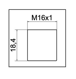 Mousseur aérateur M16