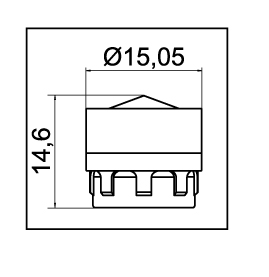 """Mousseur économie eau 8L/min M16 - M18 - 3/8"""""""